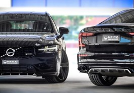 ブラックビューティーな現行型V60/S60カスタマイズ