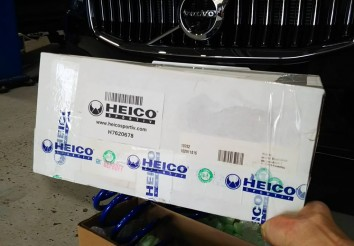 ボルボV60 (ZB) HEICO SPORTIV スポーツスプリング取付!